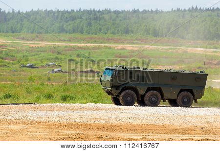The Armoured troop-carrier