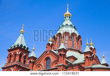 Helsinki, Finland, The Uspenski Cathedral Exterior