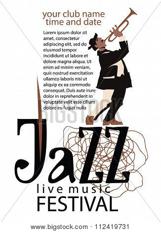 Jazz poster concept.