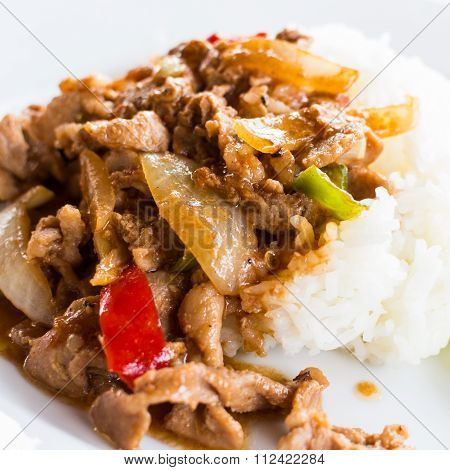 Stir Fried Pork With Pickled Bean Curd