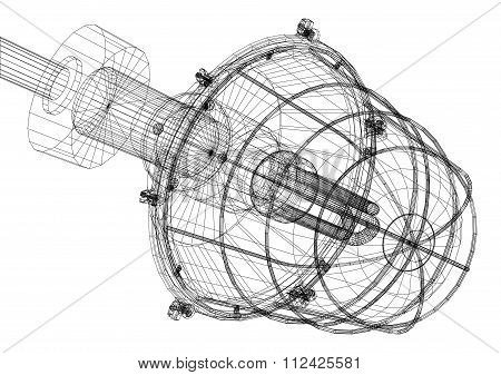 Xray of heat exchanger