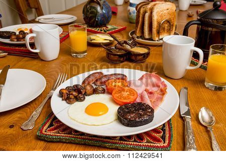 Cooked Scottish Breakfast