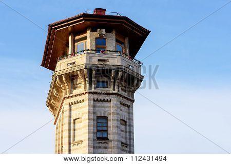 Old water tower in chisinau, Moldova
