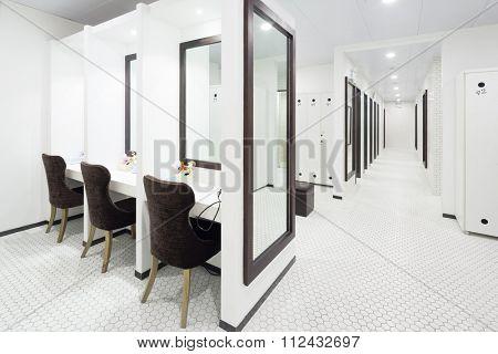 furniture and design of modern dressing room