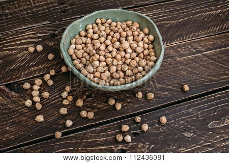 Bowl With Chickpeas.