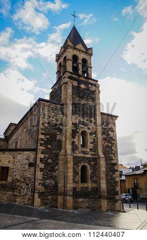 Cathedral Of Ponferada, Castilla Y Leon, Spain