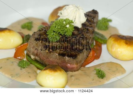 Medium Grilled Steak