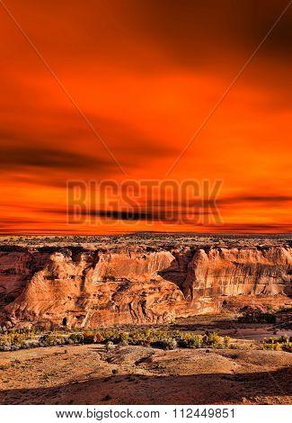 Sunrise Canyon De Chelly