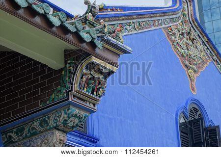 Fatt Tze Mansion Or Blue Mansion