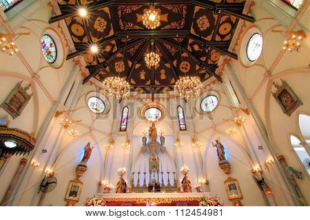 Interior of Church of Christian