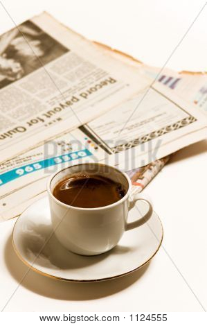 Newspapers And Coffe