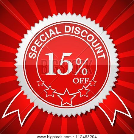 Special Discount 15% Off.