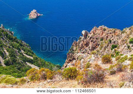 Rocks Of Capo Rosso, Piana Region, Corsica