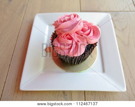 Beautiful Colorful Cup Cake