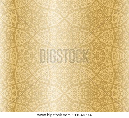 Sepia starshaped seamless arabesque