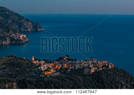 Corniglia And Manarola