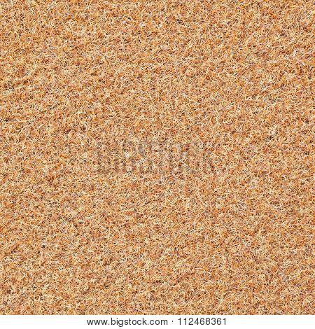 Plastic fiber of floor mat seamless background and texture