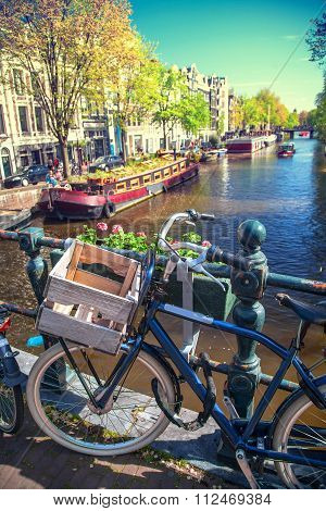 Amsterdam In The Spring.