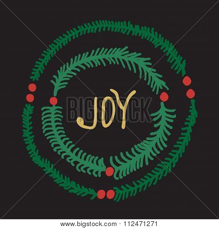 Greeting Card - Joy