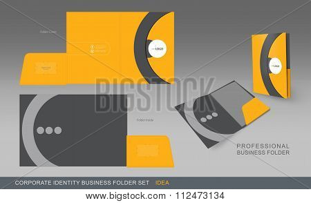 Corporate Identity Business Folder-concept 02