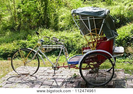 Thailand Traditional Tricycle