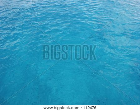 Clear Blue Ocean Water