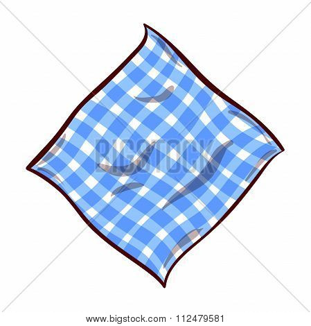 Napkin On White Background