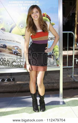 14/11/2009 - Westwood - Kayla Ewell at the Los Angeles Premiere of