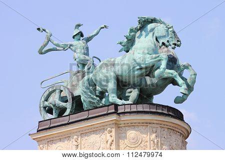 Allegorical Statue of War
