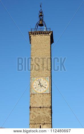 Clock Tower of Viterbo
