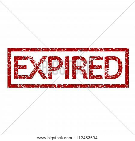 an images of illustration expired stamp word