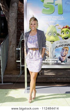 WESTWOOD, CALIFORNIA - November 14, 2009. Ashley Roberts at the Los Angeles premiere of