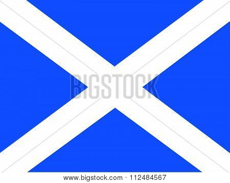 an images of illustration Flag of Scotland