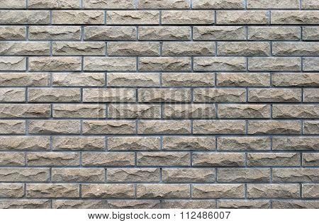 Brick Wall With A Seam