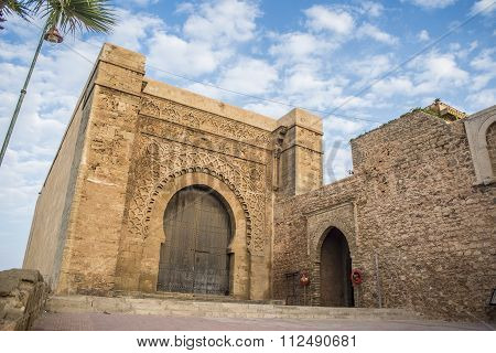 Bab El Kebir Gate Of Kasbah Of The Udayas.