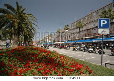 Boulevard Split Croatia
