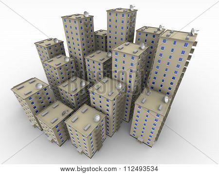Multi-storey residential houses