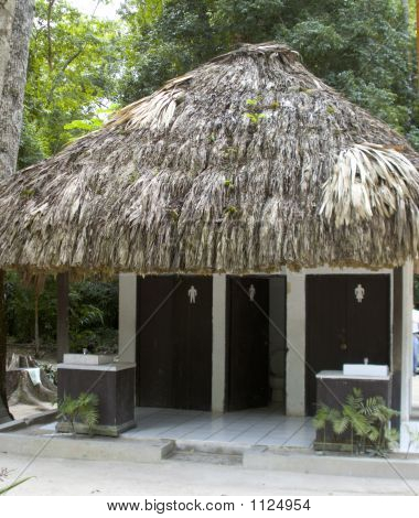 Outdoor Bathrooms Tikal Guatemala