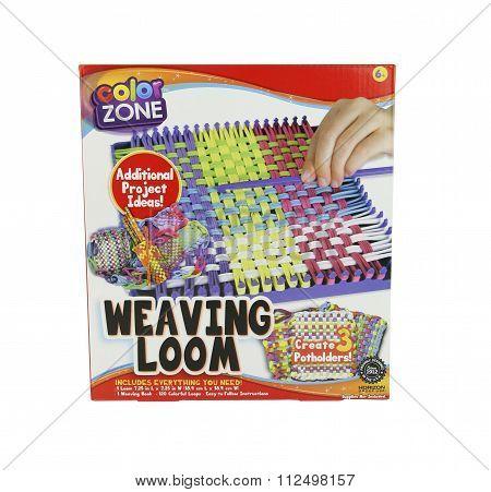 Color Zone Weaving Loom Kit