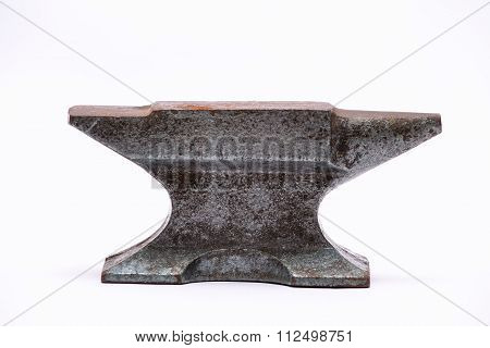 Old Rusty Rugged Anvil.