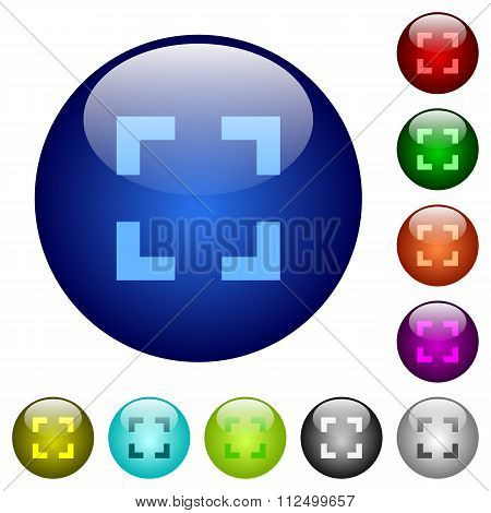 Color Selector Tool Glass Buttons