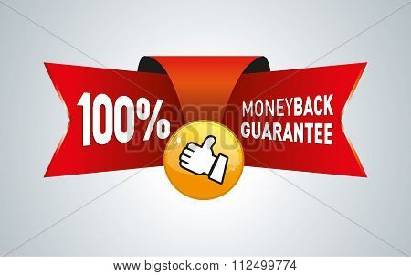 Money back guarantee business seal