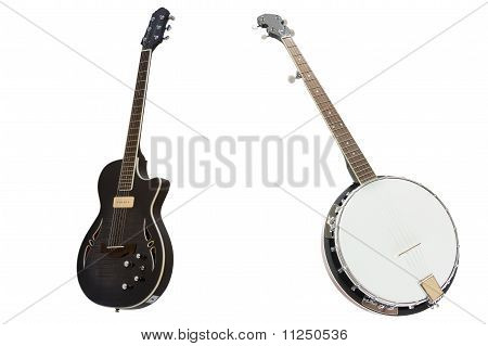 Banjo And Guitar