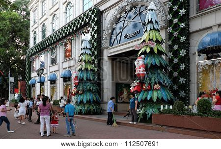 Ho Chi Minh City, Walking Street, Christmas Season