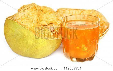Medicinal Bael Fruit With Juice