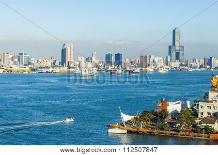 view of the city in Taiwan - Kaohsiung