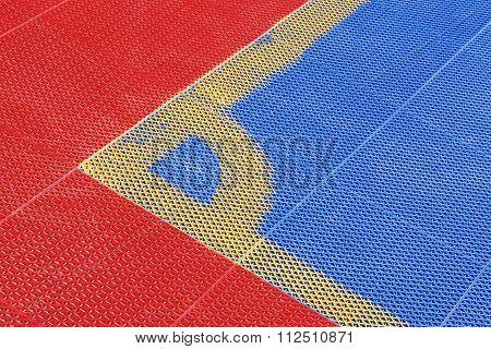 Futsal Plastic Court Flooring Tiles Texture Floor