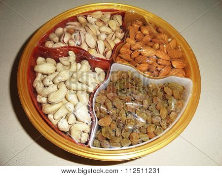 Delicious Healthy Mixed Dry Fruits, Nuts and Seeds
