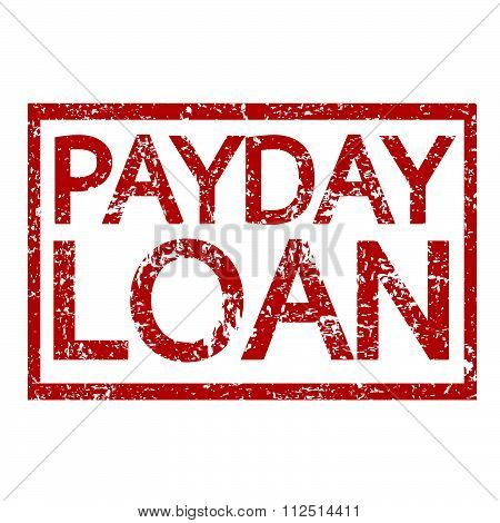 an images of illustration Stamp text PAYDAY LOAN