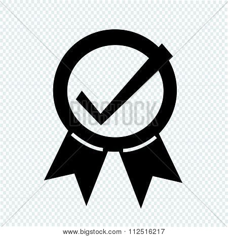 an images of  illustration vector Certified Seal Icon
